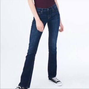 NWOT Aeropostale Chelsea Bootcut Jeans Flap Pocket